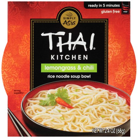 Thai Kitchen? Lemongrass & Chili Rice Noodle Soup Bowl 2.4 oz. Sleeve