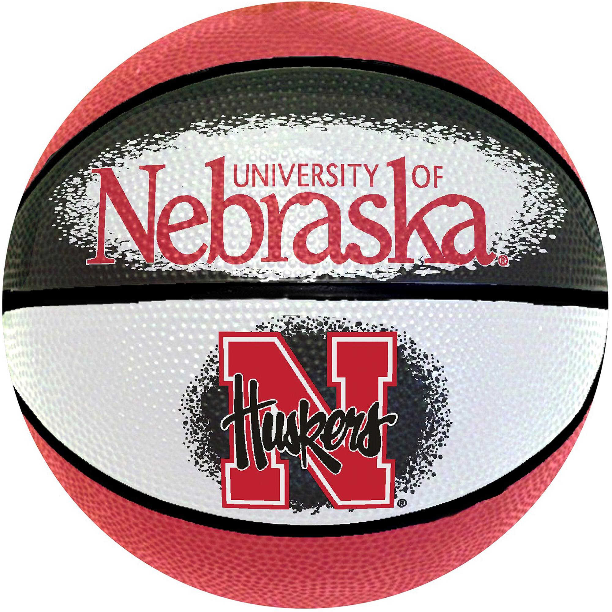 "Game Master NCAA 7"" Mini Basketball, University of Nebraska Cornhuskers"
