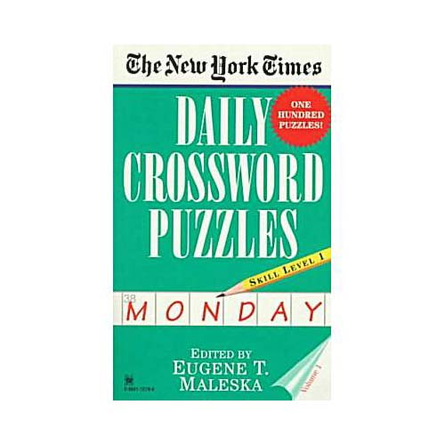 The New York Times Daily Crossword Puzzles: Monday