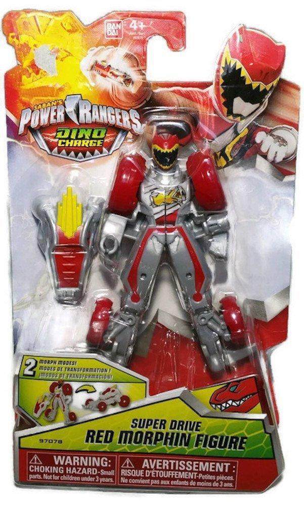Power Rangers Dino Charge Super Drive Red Morphin Figure by