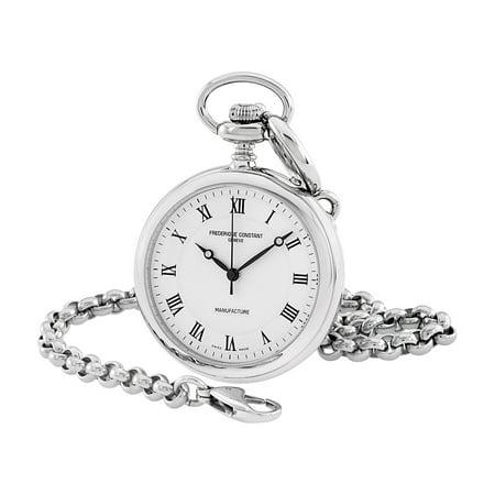 FREDERIQUE CONSTANTManufacture Silver Dial Pocket Watch FC-700MC6PW6