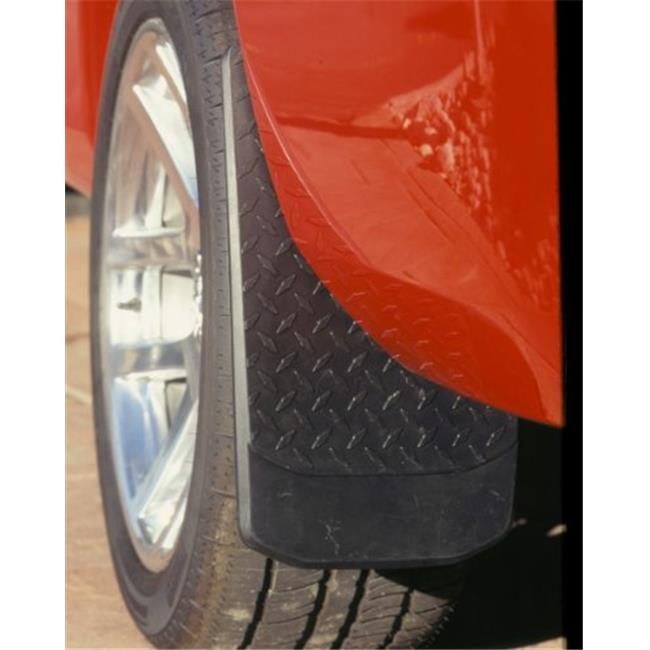 Power Flow 3102 Big Mudder Oversize Mud Flap, Diamond Plate