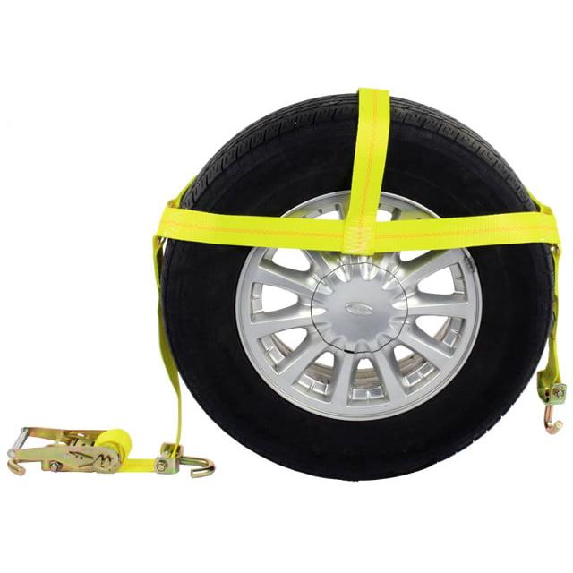 Wheel Bonnet with Swivel Hooks & Ratchet