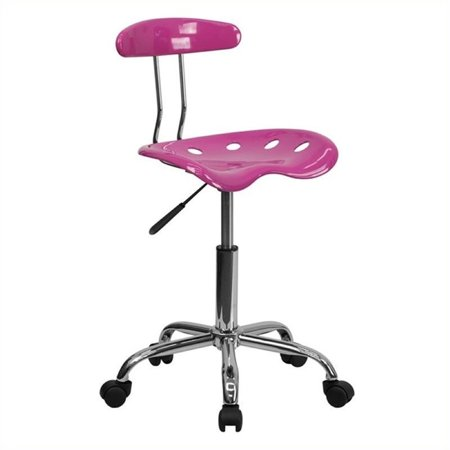 Scranton & Co Computer Task Office Chair in Pink - image 2 de 2