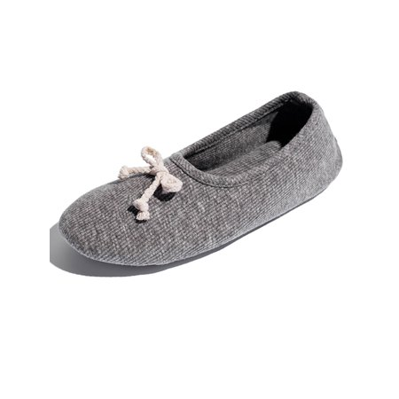 florata ladies house slippers classic terry ballerina slipper with