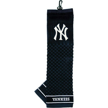 Team Golf MLB New York Yankees Embroidered Golf Towel