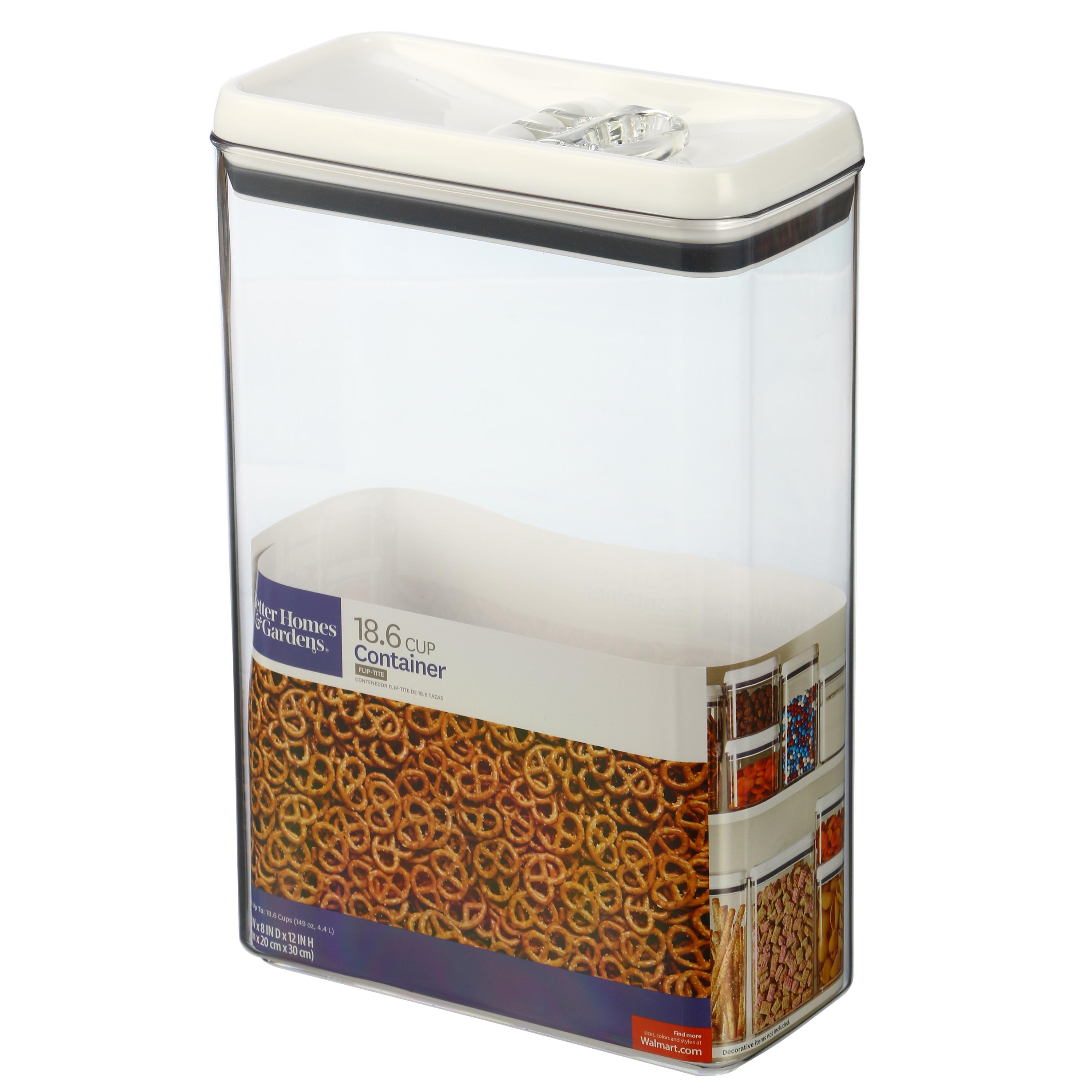 Better Homes and Gardens 18.6-cup Rectangle Container