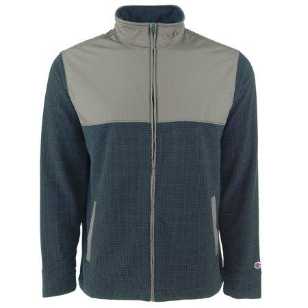 Polyester Athletic Jacket (Champion Men's Fleece Workout Athletic Jacket )