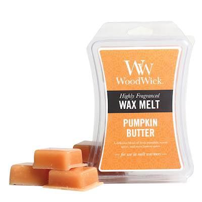 Pumpkin Butter WoodWick Hourglass 3 oz Wax - Wax Pumpkin