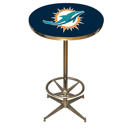 Imperial NFL Pub Table, Miami Dolphins