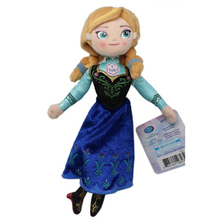 Anna Top - Disney's Frozen Small Size Anna Stuffed Kids Toy (8in)