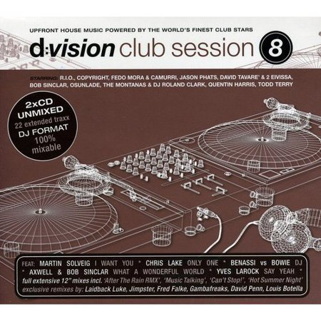 D:Vision Club Session 8 / Various (Dlx) (Dig)
