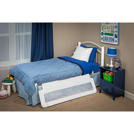 Regalo Swing Down 54 Inch Extra Long Bed Rail Guard With