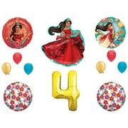 ELENA OF AVALOR 4th Fourth Happy Birthday Party Balloons Decoration Supplies Disney Show