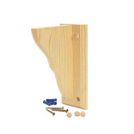 Wooden Shelf Brackets (Waddell Shelf Bracket 4