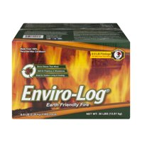 Enviro-Log Sustainably Made Firelogs - 5lbs 3 Hour (1000562), 6 Pack