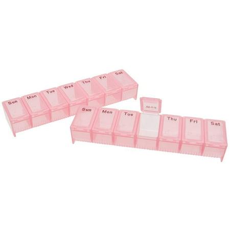 - Pill Box Light Red Braille