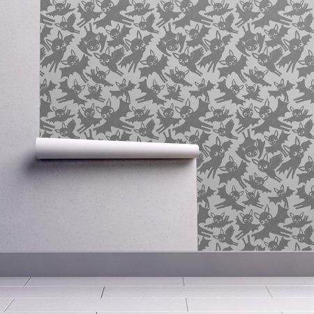 Wallpaper Roll or Sample: Bats Halloween Bat Animal Flight Retro