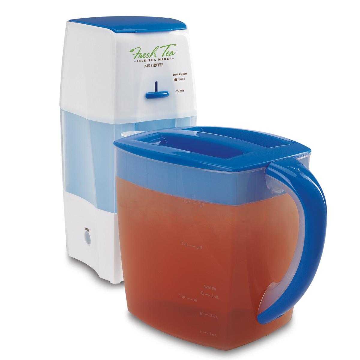 Mr Coffee 3 Quart Iced Tea Maker Black Tm75bk 1