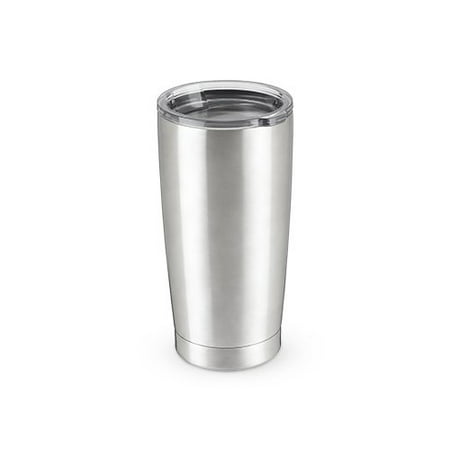 Tumbler, 20oz Double Walled Chrome Stainless Steel Insulated Modern Tumbler (Sold by Case, Pack of 4) Brass Case Tumbler