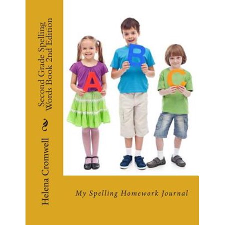 Second Grade Spelling Words Book : My Spelling Homework Journal](Grade 2 Halloween Spelling Words)