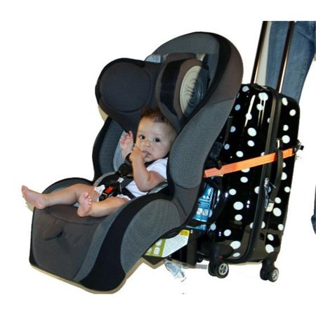 Travelmate Car Seat Luggage Strap Orange