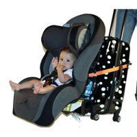 Go-Go Babyz CSLS Travelmate Car Seat Luggage Strap, Orange