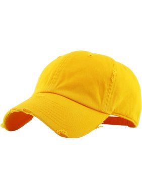 23ad8a600b9 Product Image Washed Solid Vintage Distressed Cotton Dad Hat Adjustable Baseball  Cap Polo Style