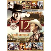 12 Westerns Featuring John Wayne And Roy Rogers by PLATINUM DISC CORP (DO NOT USE
