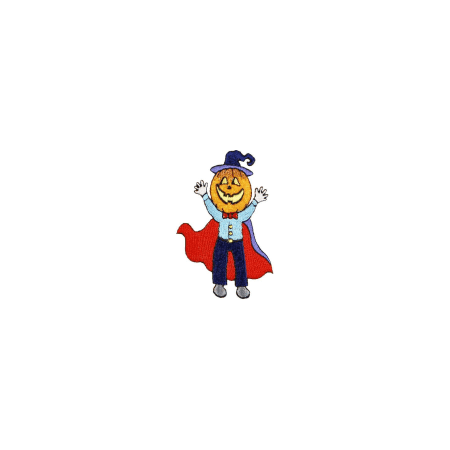 Expo Int'l Halloween Spooky Jack Iron-on Applique