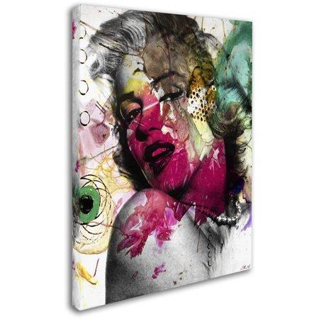 """Trademark Fine Art """"Marilyn Monroe II"""" Canvas Art by Mark Ashkenazi"""
