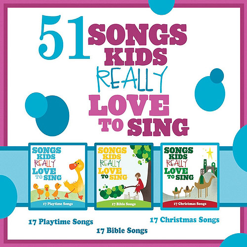 51 Songs Kids Really Love To Sing (3CD)