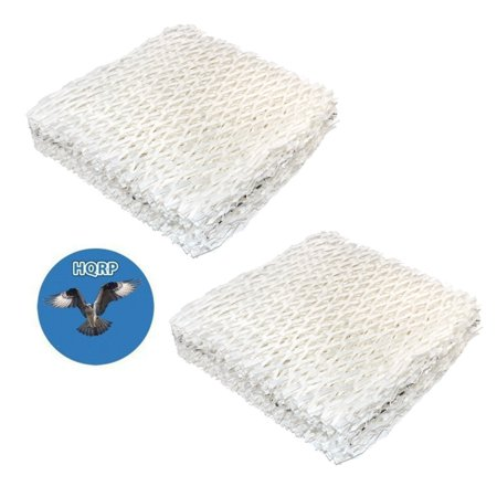 HQRP 2-pack Humidifier Wick Filter for Sears Kenmore 14803, 14804, 14103, 14104, 14113, 14114, 14121, 14122 Humidifiers + HQRP Coaster (Humidifier Filters Kenmore 14114)
