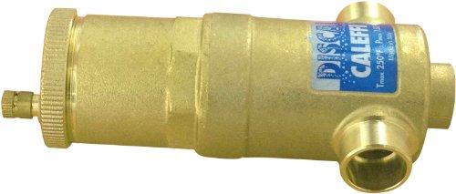 Caleffi 5020/MINICAL Purgeur MINICAL moyenne capacit/é en laiton 3//8/