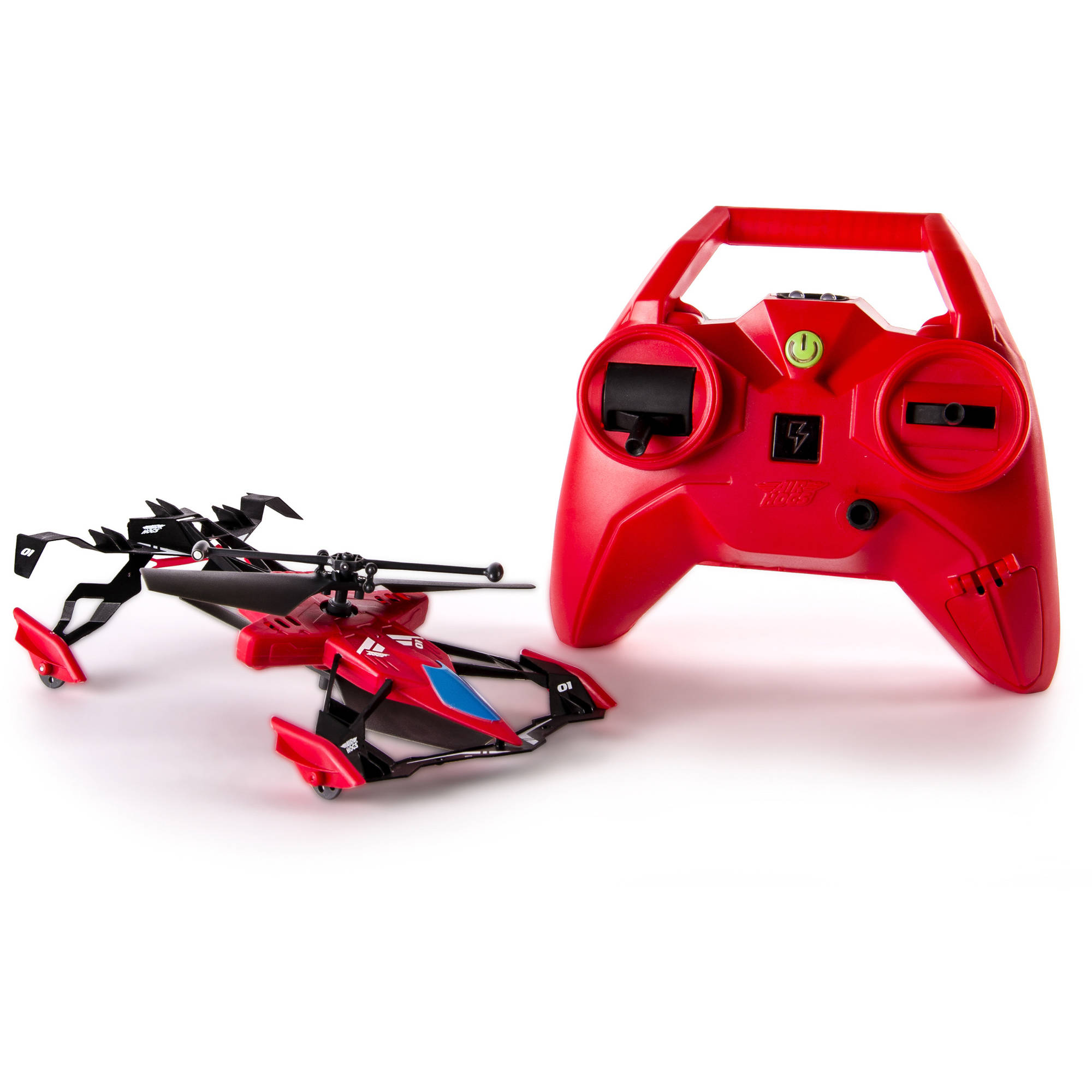 Air Hogs Switchblade Ground and Air Race RC Heli, Red