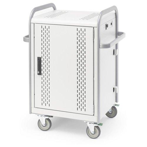 Bretford MDMLAP20-CTAL 20-unit Charge\/store Laptop Cart Cart Secure & Charge