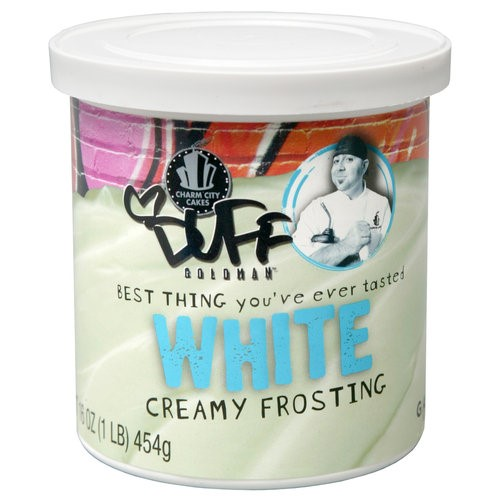Duff Goldman Creamy White Frosting, 16 oz