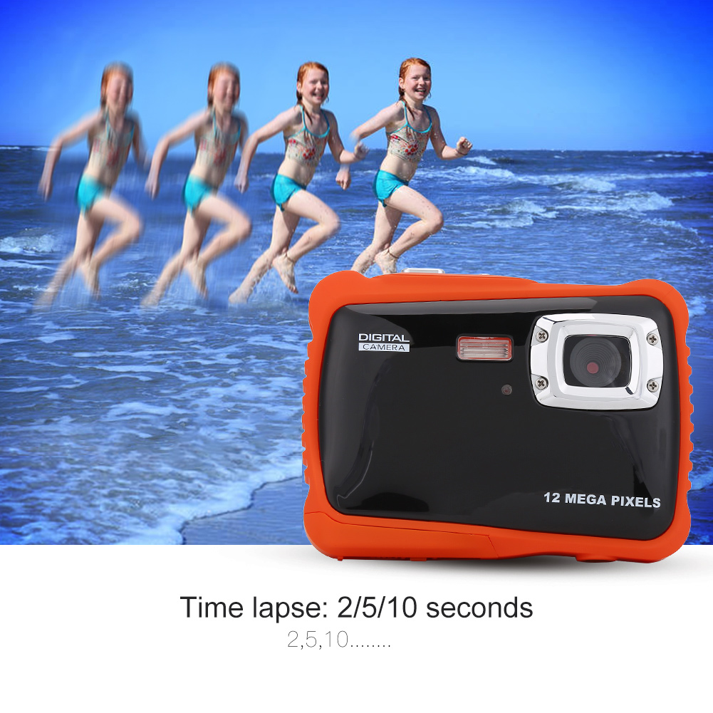 Waterproof Kids Camera High Definition Underwater Swimming Digital Camera Camcorder