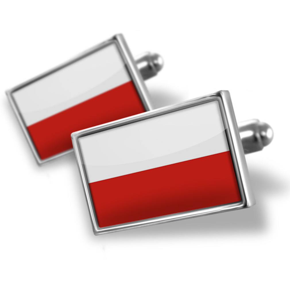 Cufflinks Poland Flag NEONBLOND by NEONBLOND