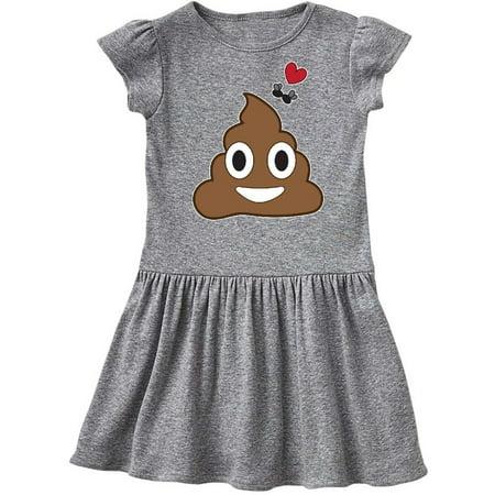 Valentine's Day Love Poop Emoji and Flies Toddler