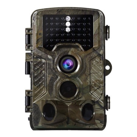 12MP 1080P No Glow Trail Game Camera 65ft Infrared PIR Sensor Distance 38pcs IR LED night veision Wildlife Deer Hunting Video Cams 2.4