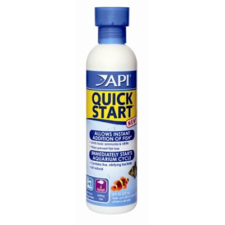 - API Quick Start, Freshwater And Saltwater Aquarium Nitrifying Bacteria, 8 oz