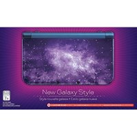 Refurbished Nintendo Galaxy Style Nintendo New 3DS XL Console Purple Handheld