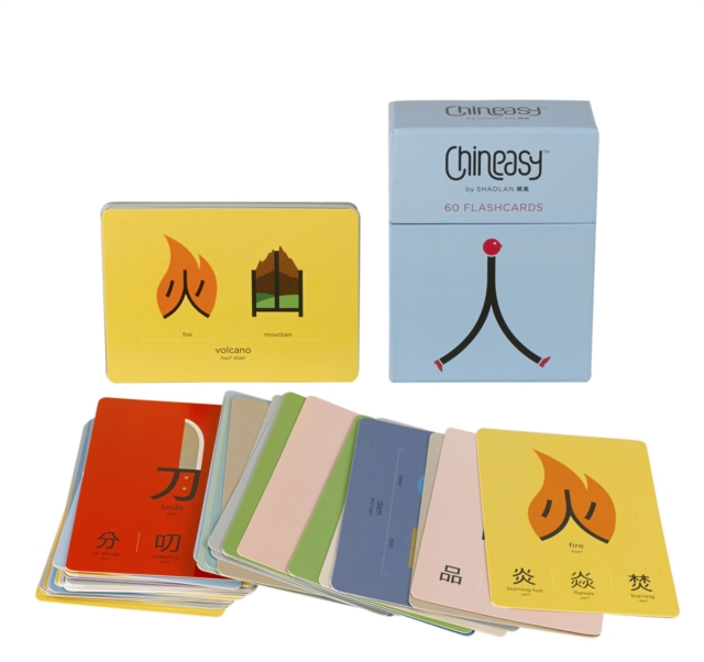 Chineasy 60 Flashcards (Card Book)
