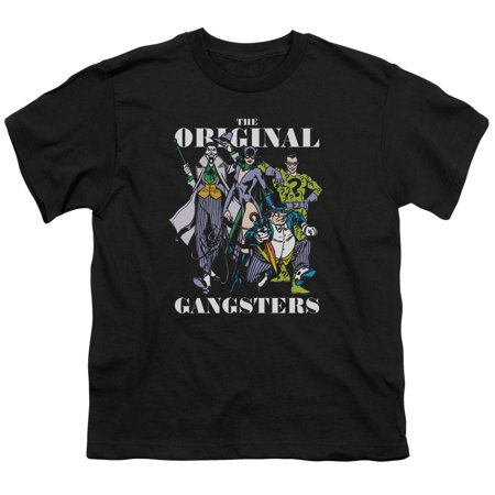 Dc - Original Gangsters - Youth Short Sleeve Shirt - X-Large - Gangster Items