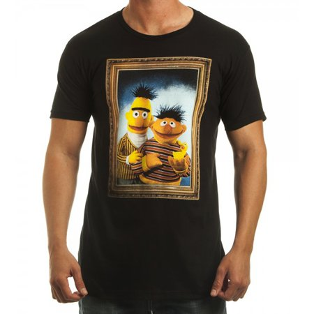 Sesame Street Bert And Ernie (Sesame Street Bert and Ernie Framed T-Shirt )