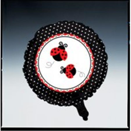 Creative Converting 045019 Ladybug Fancy - Metallic Balloon - Case of 12](Fancy Balloons)
