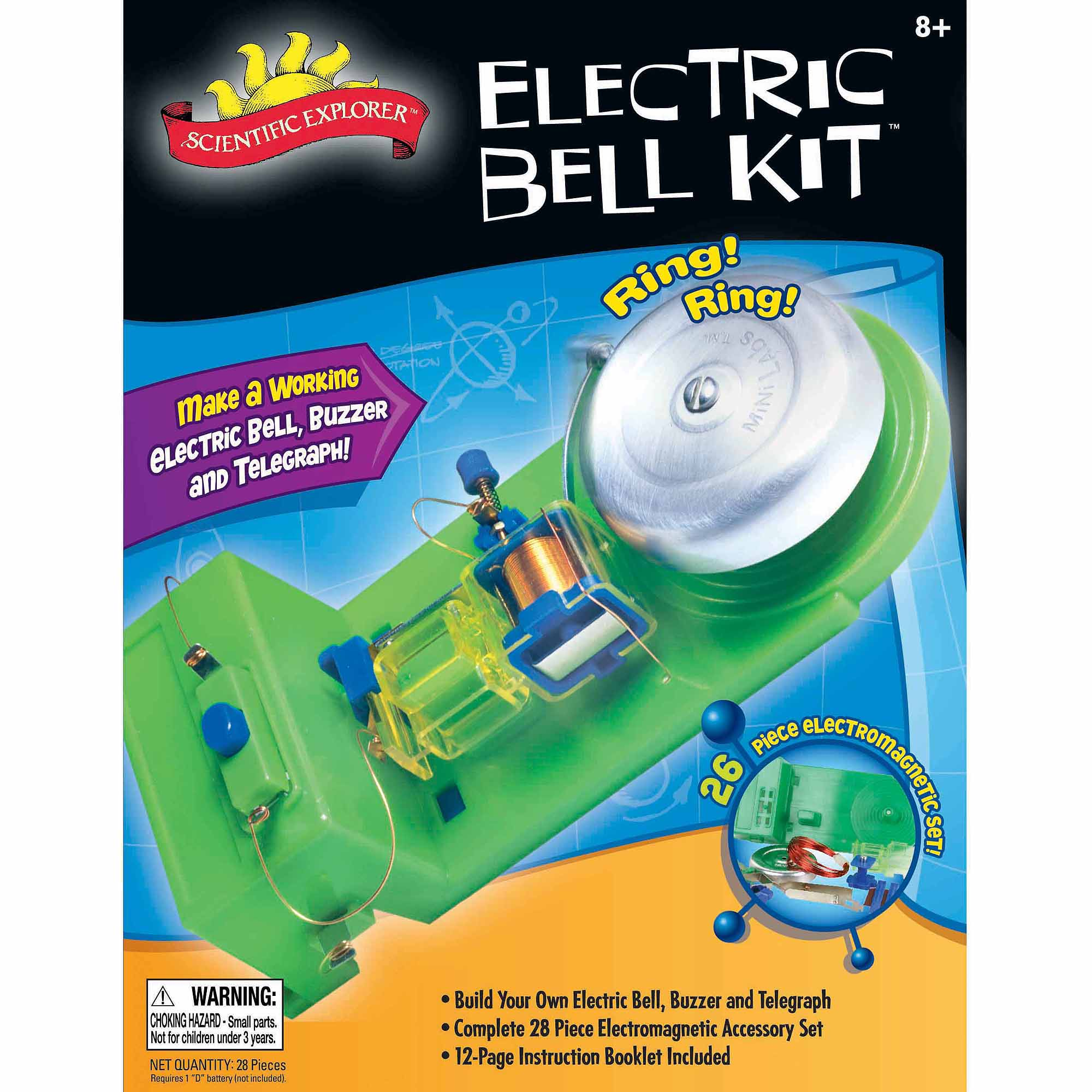 Alex Brands Scientific Explorer Electric Bell Mini Lab