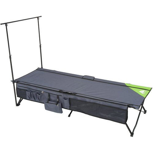 Ozark Trail Instant Cot with Rack and Side Storage, Sleeps 1
