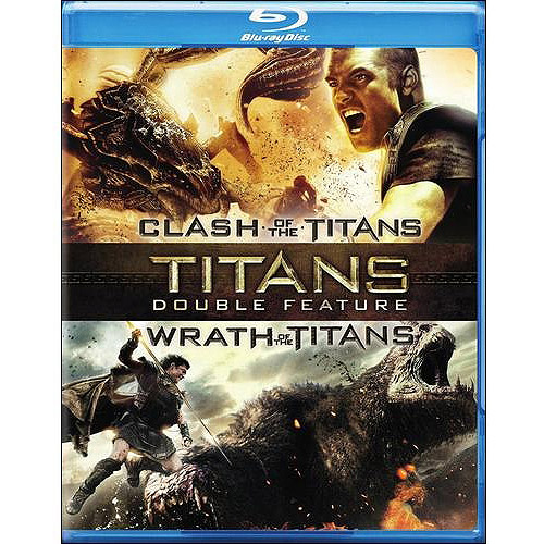 Clash Of The Titans (2010) / Wrath Of The Titans (Blu-ray) (Widescreen)